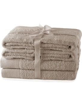 Súprava uterákov AmeliaHome Amary béžová