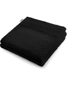 Bavlnený uterák AmeliaHome AMARI čierny