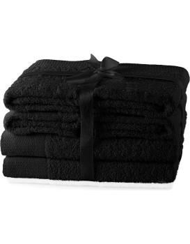 Súprava uterákov AmeliaHome Amary čierna