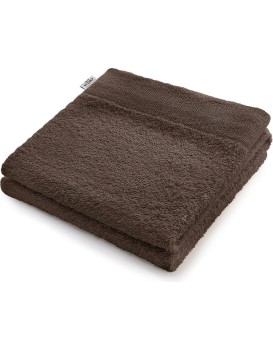 Bavlnený uterák DecoKing Berky hnedý
