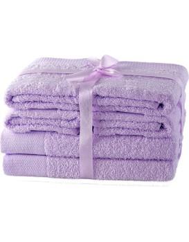 Súprava uterákov AmeliaHome Amary lila