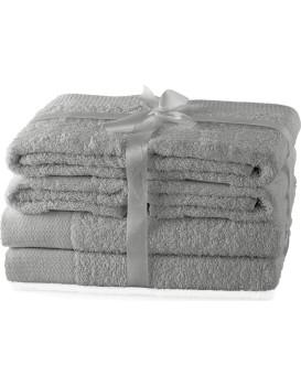 Súprava uterákov AmeliaHome Amary sivá