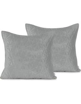 Povlaky na polštáře AmeliaHome Laila stříbrné