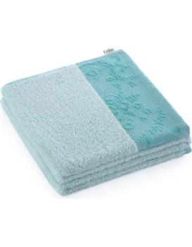 Bavlněný ručník AmeliaHome Crea 50 x 90 cm světle modrý