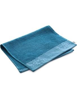Bavlněný ručník AmeliaHome Crea 30 x 50 cm modrý/mořský