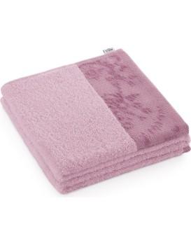 Bavlněný ručník AmeliaHome Crea růžový