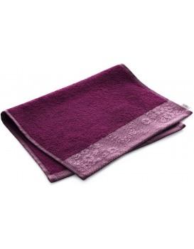 Bavlnený uterák AmeliaHome Crea II rubínovo červený