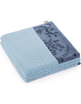 Bavlněný ručník AmeliaHome Crea I modrý