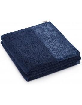 Bavlnený uterák AmeliaHome Crea III modrý