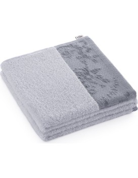 Bavlnený uterák AmeliaHome Crea II svetlosivý