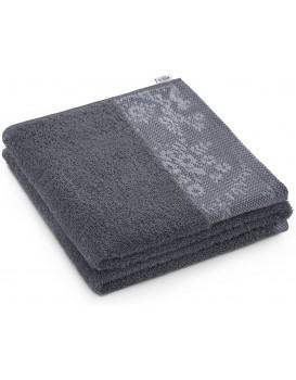Bavlněný ručník AmeliaHome Crea I grafitový