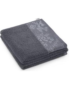 Bavlnený uterák AmeliaHome Crea grafitový