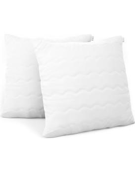 Sada dvou polštářů AmeliaHome Reve 30 x 30 cm bílá