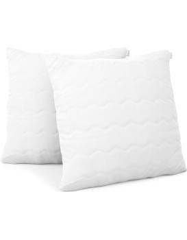 Sada dvou polštářů AmeliaHome Reve 50 x 50 cm bílá