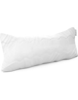Polštář AmeliaHome Reve 30 x 50 cm bílý