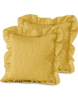 Povlaky na polštáře AmeliaHome Tilia I žluté