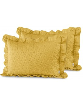 Povlaky na polštáře AmeliaHome Tilia žluté