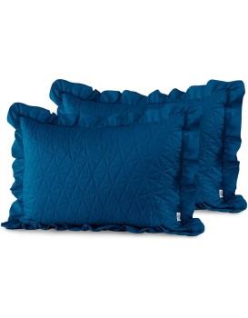 Obliečky na vankúše AmeliaHome Tilia I modré