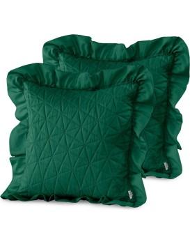 Povlaky na polštáře AmeliaHome Tilia zelené