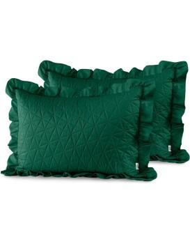Povlaky na polštáře AmeliaHome Tilia I zelené