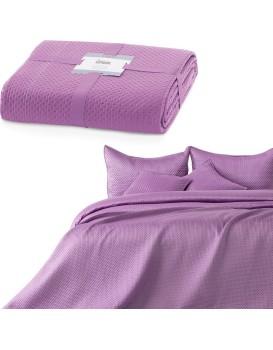 Přehoz na postel Carmen šeříkový