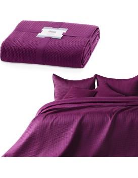 Přehoz na postel Carmen fialový
