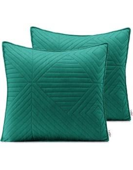Povlaky na polštáře AmeliaHome Softa zelené