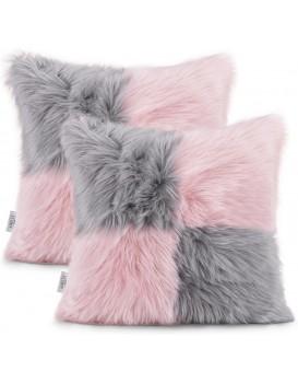 Povlaky na polštáře AmeliaHome Nancy I růžové