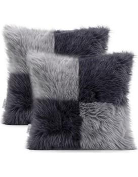 Povlaky na polštáře AmeliaHome Nancy šedé