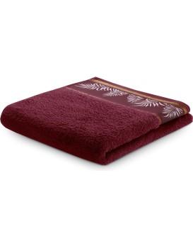 Bavlnený uterák AmeliaHome Pavos bordó