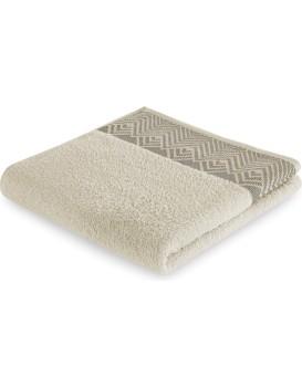 Bavlnený uterák AmeliaHome Aledo béžový