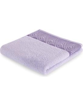 Bavlnený uterák AmeliaHome Aledo fialový