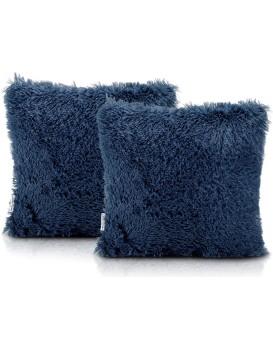 Povlaky na polštáře AmeliaHome Karvag tmavě modré