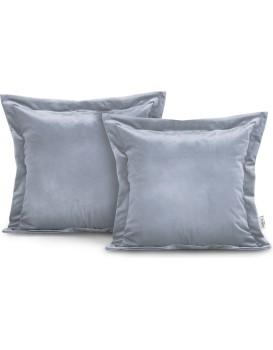Povlaky na polštáře AmeliaHome Velvet Side šedé