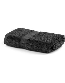 Bavlnený uterák DecoKing Marina uhľový