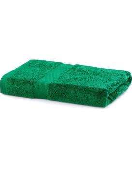 Bavlnený uterák DecoKing Mila 70 × 140 cm tmavozelený