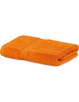 Bavlnený uterák DecoKing Maria oranžový
