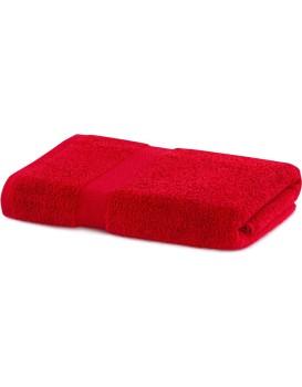 Bavlnený uterák DecoKing Mila 70 × 140 cm červený