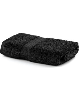 Bavlnený uterák DecoKing Marina čierny