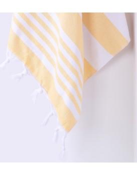 Bavlněná osuška DecoKing Torini žlutá
