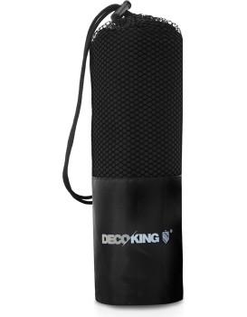 Sportovní ručník z mikrovlákna DecoKing Ekea černý