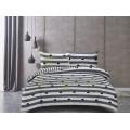 Bavlnená posteľná bielizeň DecoKing Ducato WHATEVER + 2 obliečky na vankúš