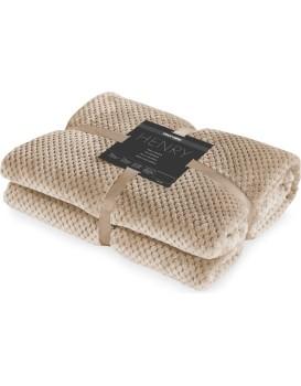 Prikrývka na posteľ DecoKing Henry cappuccino