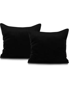 Povlaky na polštáře Decoking Terro 40x40 černé - 2 kusy