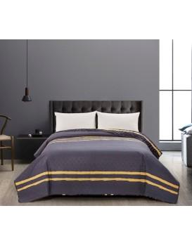 Obojstranný prehoz na posteľ z mikrovlákna DecoKing Tropical
