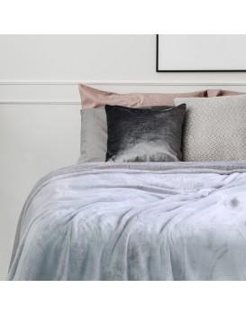 Přehoz na postel z mikrovlákna DecoKing Fluff cappuccino
