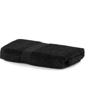 Bavlnený uterák DecoKing Mila 30x50 cm čierny