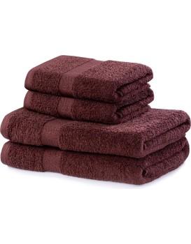 Súprava hnedých uterákov DecoKing Niki
