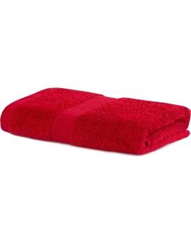 Bavlnený uterák DecoKing Mila 30 × 50 cm červený
