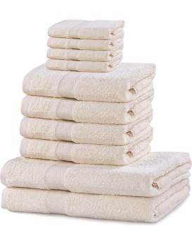 Súprava uterákov DecoKing Kunis ecru